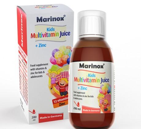 شربت مولتی ویتامین + روی مارینوکس