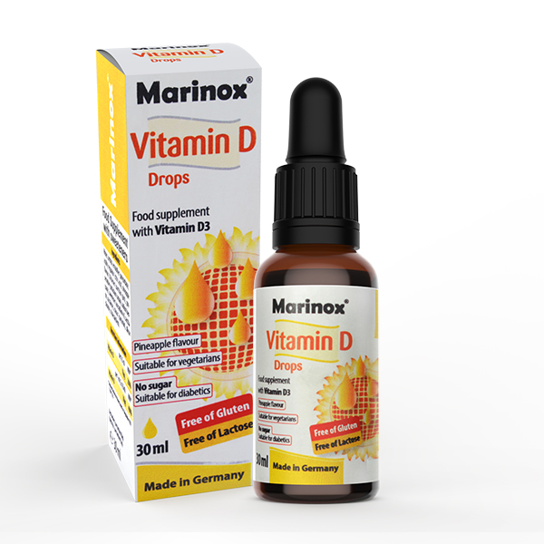 قطره ویتامین D مارینوکس